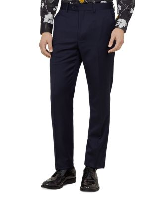 Arcinat Debonair Plain Slim Fit Suit Trousers by Ted Baker