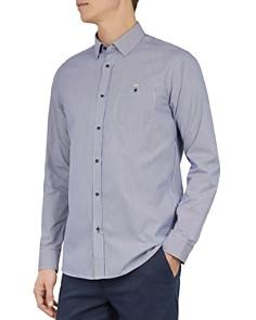 Ted Baker - Yerman Striped Slim-Fit Shirt