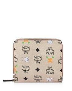 MCM - Rabbit Mini Zip Wallet