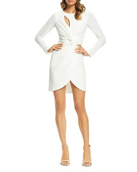 Dress the Population - Coby Twist-Front Dress