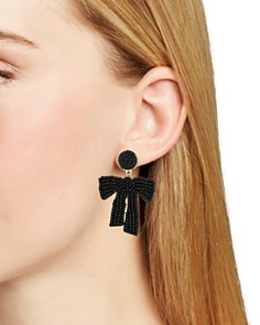 BAUBLEBAR - Sachi Bow Drop Earrings