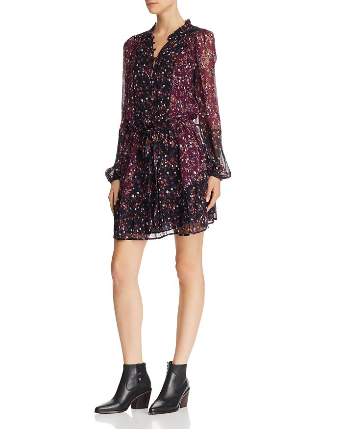 34f7460e5 PAIGE Sonoma Printed Silk Dress