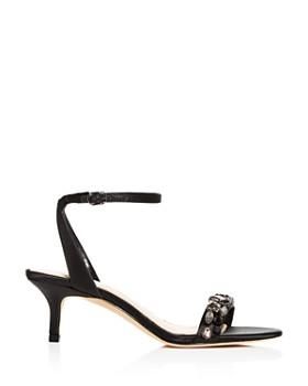 Imagine VINCE CAMUTO - Imagine VINCE CAMUTO Women's Kolo Embellished Kitten-Heel Sandals