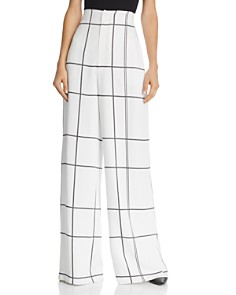 Equipment - Berneen Printed Wide-Leg Pants