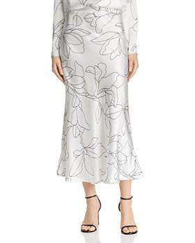 Equipment - Iva Printed Silk Skirt