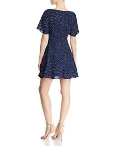 BB DAKOTA - Flutter-Sleeve Polka Dot Dress - 100% Exclusive