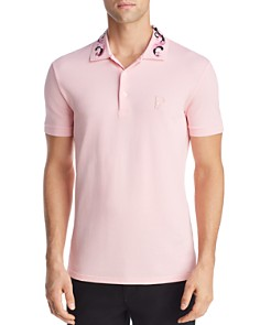 Versace Collection - Embroidered Regular Fit Polo Shirt