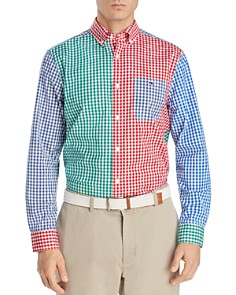 Vineyard Vines - Carleton Gingham Party Classic Fit Button-Down Shirt