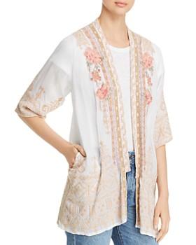 f31449a59faa9d Johnny Was - Helena Embroidered Kimono ...