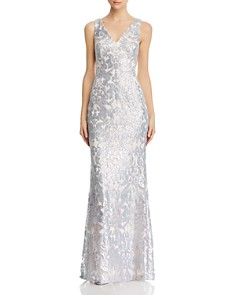 Eliza J - Sequined Lace Gown