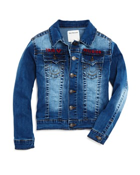 True Religion - Boys' Denim Jacket - Little Kid, Big Kid