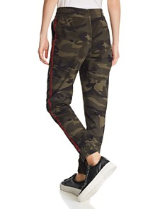 AQUA - Track Stripe Camo Jogger Pants - 100% Exclusive