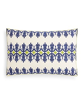 "John Robshaw - Sama Decorative Pillow, 12"" x 18"""