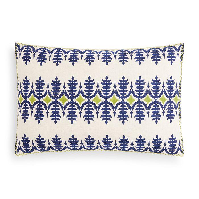 "John Robshaw - Sama Decorative Pillow, 12"" x 18"""