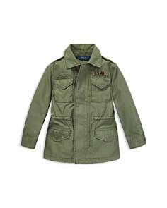 Ralph Lauren - Girls' Twill Military Jacket - Little Kid