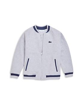abc5533291d0 Lacoste - Boys  Zip-Up Bomber Jacket - Little Kid