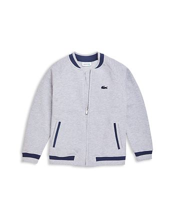 Lacoste - Boys' Zip-Up Bomber Jacket - Little Kid, Big Kid