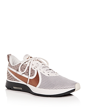 Nike Women's Zoom Strike Knit Low-Top Sneakers