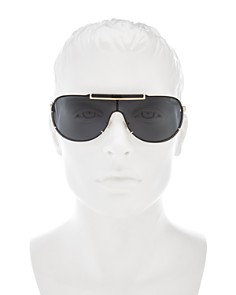 Versace - Men's Shield Sunglasses, 65mm