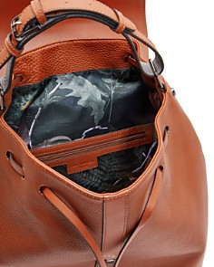 Ted Baker - Rusted Fashion Leather Backpack