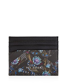 Ted Baker - Slip Printed Leather Cardholder