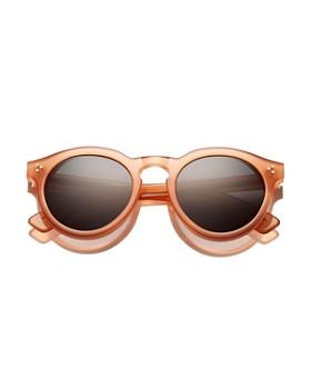 c56cda87c83 Illesteva - Women s Leonard II Oversized Round Sunglasses