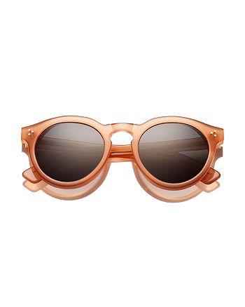Illesteva - Women's Leonard II Oversized Round Sunglasses, 50mm