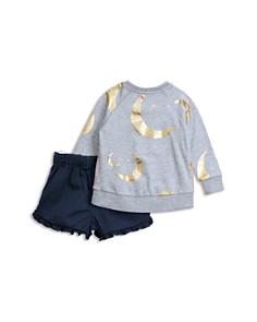 Sovereign Code - Girls' Briella + Chella Sweatshirt & Ruffled-Shorts Set - Baby