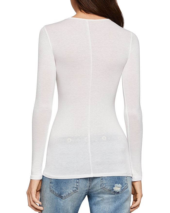 27151d8e81 BCBGENERATION Long-Sleeve Essential Layering Top | Bloomingdale's