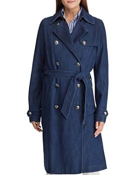 7d202b4bcccc Ralph Lauren - Denim Trench Coat ...