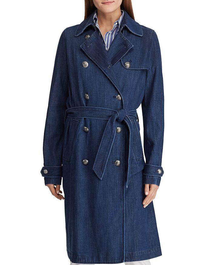 Ralph Lauren - Denim Trench Coat