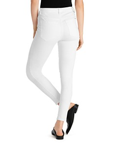 Ella Moss - High-Rise Cropped Skinny Jeans in White