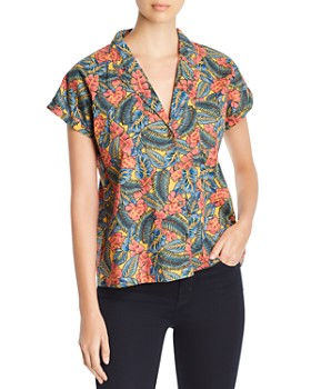abe447711c99e4 MKT Studio - Chiry Jungle-Print Shirt ...
