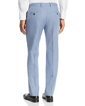 BOSS - Genesis Cotton Stretch Solid Slim Fit Dress Pants