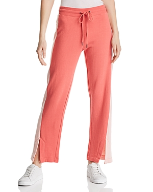 Splendid Pants RYDER COLOR-BLOCK TERRY SWEATPANTS