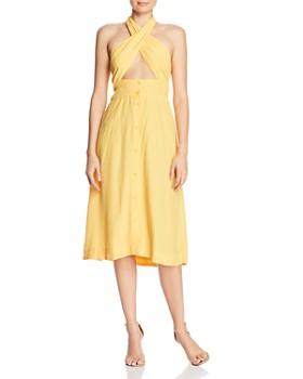 S/W/F - Cross-Front Dress