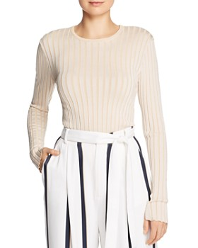7098a991ad7 Equipment - Saviny Ribbed Sweater ...