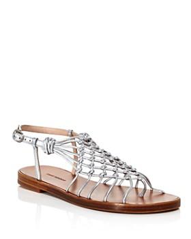 Stuart Weitzman - Women s Seaside Netted Thong Sandals ... 4dd7d364d344
