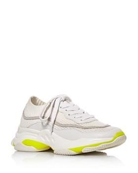 d7d2deb0d5a3 AQUA - Women s Mack Lace-Up Knit Sneakers - 100% Exclusive ...