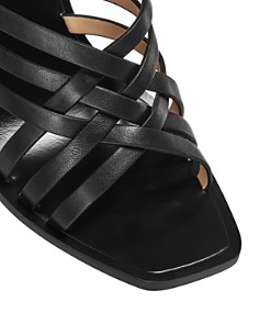 Rachel Zoe - Women's Kate Strappy Block-Heel Mules