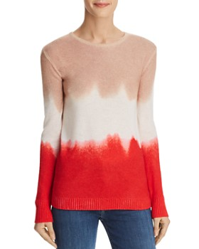 C by Bloomingdale's - Dip-Dye Cashmere Sweater - 100% Exclusive
