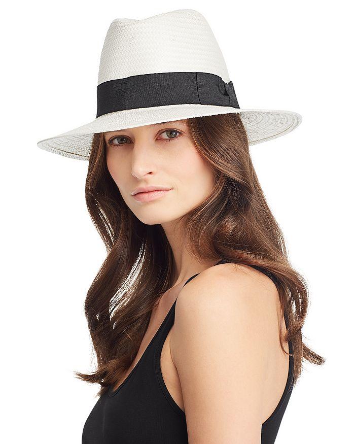 August Hat Company - Ribbon-Trim Panama Hat - 100% Exclusive