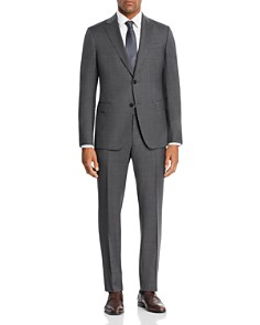 Z Zegna - Mélange Micro-Check Slim Fit Suit - 100% Exclusive