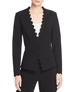 Rebecca Taylor - Scallop-Edge Suit Jacket