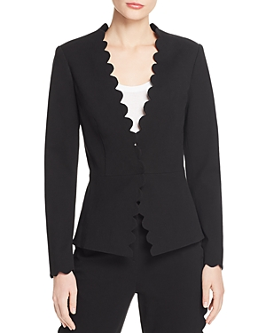 Rebecca Taylor Jackets SCALLOP-EDGE SUIT JACKET