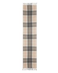 Barbour - Shield Tartan Wool Scarf