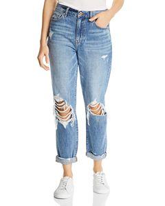 d2d172386 True Religion Cameron Boyfriend Jeans in Pop Art Paint