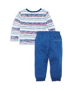 Splendid - Boys' Faded-Stripe Henley Top & Jogger Pants Set - Baby