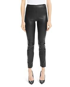 Theory - Skinny Leather Leggings
