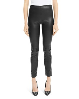 Theory - Skinny Leather Leggings